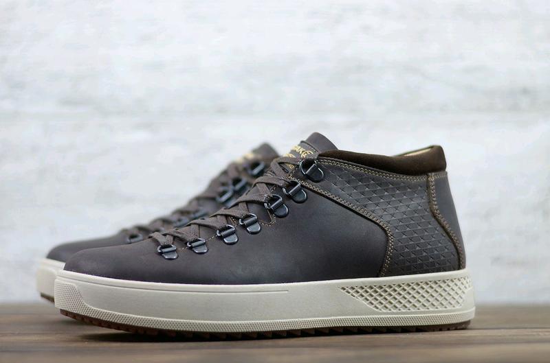 Мужские кожаные зимние ботинки Zangak, мужские ботинки - Фото 2