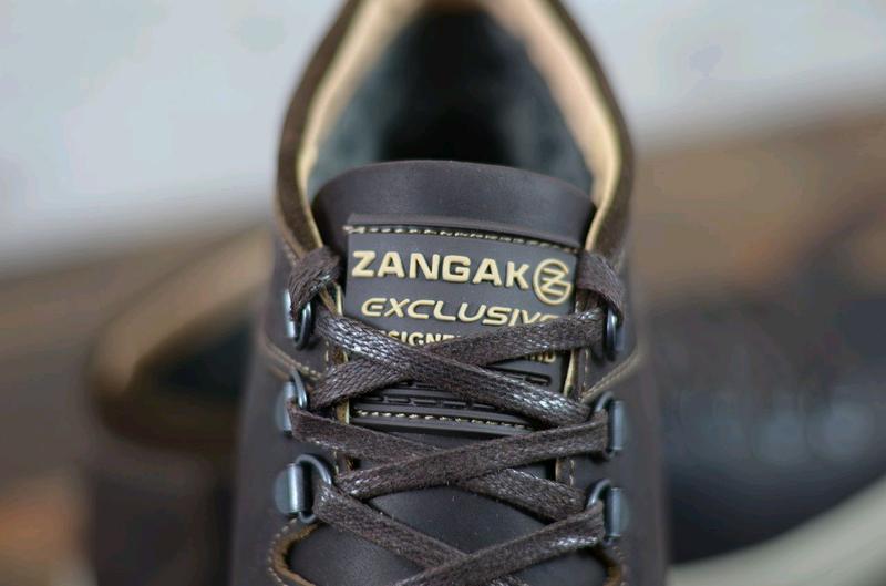 Мужские кожаные зимние ботинки Zangak, мужские ботинки - Фото 4