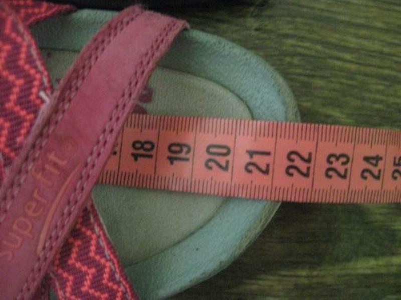 Кожаные босоножки superfit р.34 - Фото 2