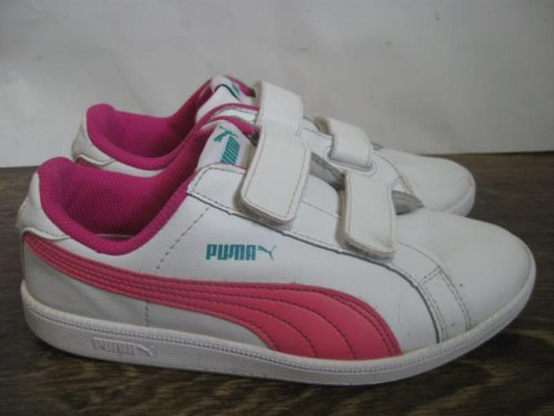 Кожаные кроссовки puma р.34