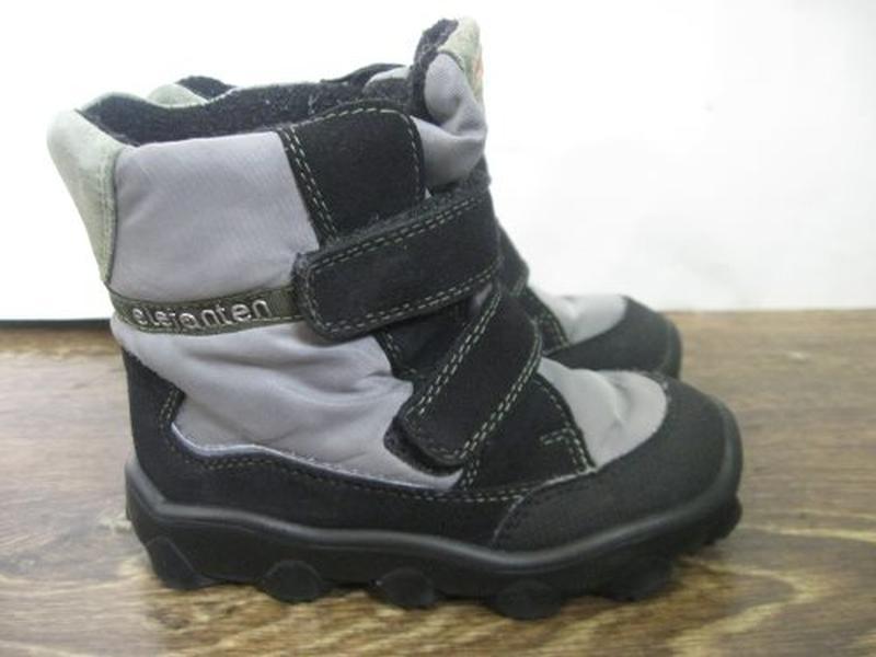 Зимние ботинки elefanten р.25