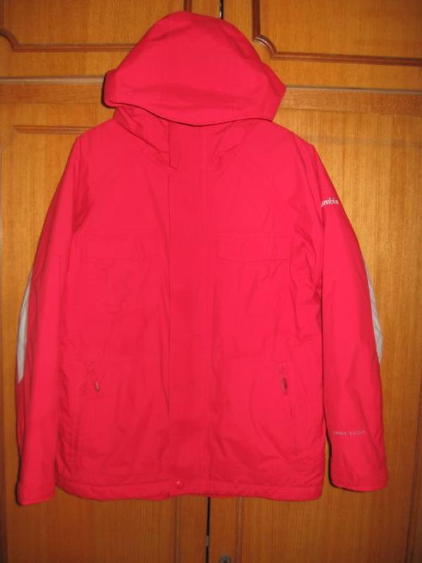 Зимняя термо куртка columbia р.10-12 лет