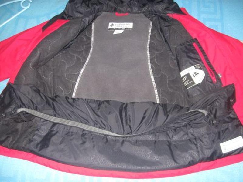 Зимняя термо куртка columbia р.10-12 лет - Фото 6