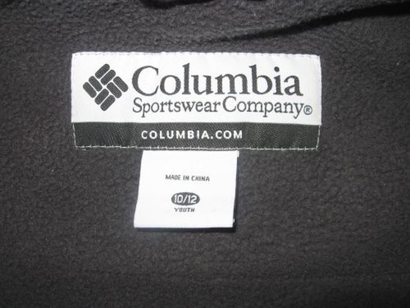 Зимняя термо куртка columbia р.10-12 лет - Фото 8