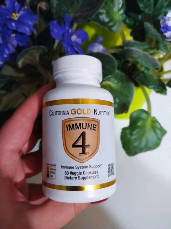 Immune4 California Gold Nutrition zinc d3 c витамин с д3 цинк се