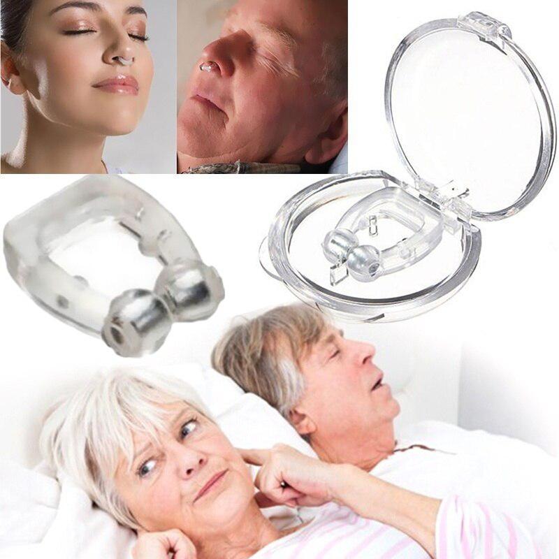 Силиконовый зажим для носа магнитные - анти храп (лечение апноэ) - Фото 4