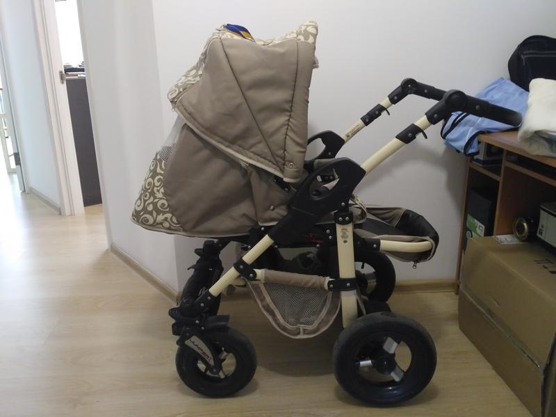 Коляска Tako Jumper 2в1 люлька + прогулочный блок + Детский автом