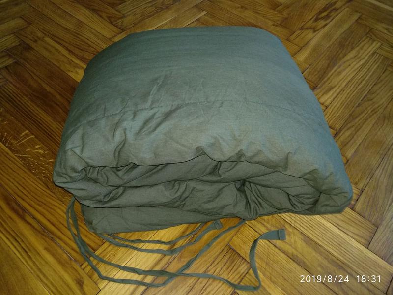 Армейский. Военный спальный мешок./ Військовий спальний мішок.