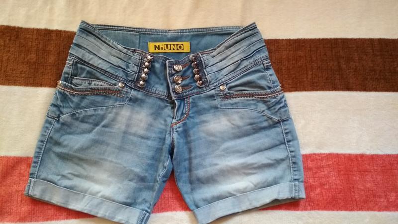 Шорты бриджи женские джинсовые новые
