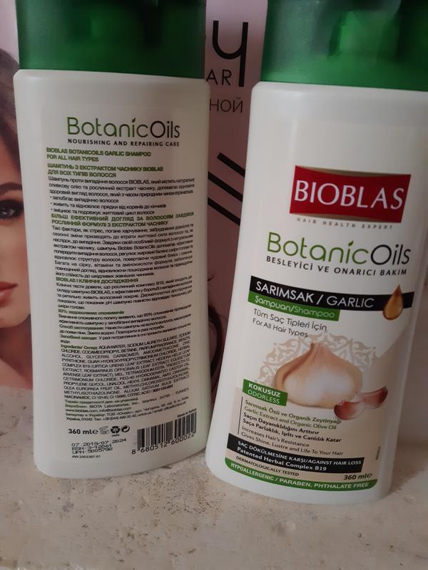 Шампунь против выпадения волос unice bioblas турция
