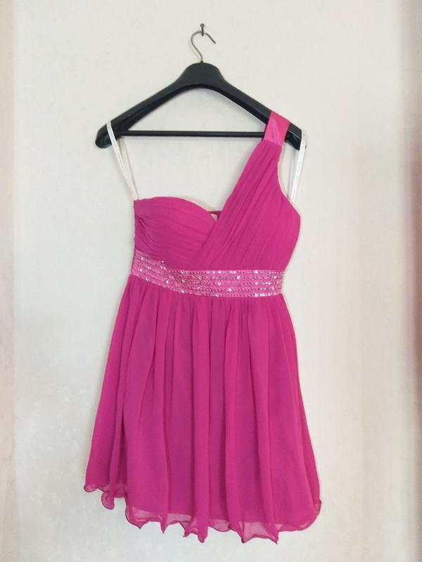 Нарядное платье little mistress uk 14 наш 48 - Фото 6