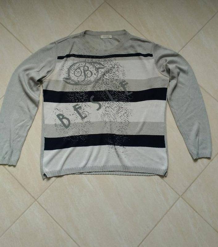 Джемпер свитер турецкого производства 3xl размер.