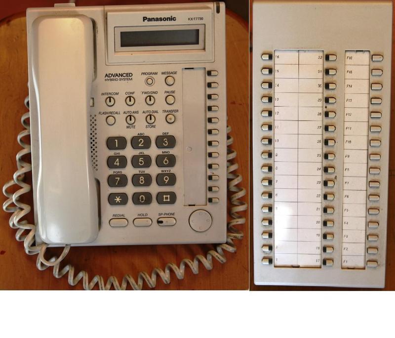 Аналоговая гибридная Мини-АТС Panasonic KX-TA 308 - Фото 2