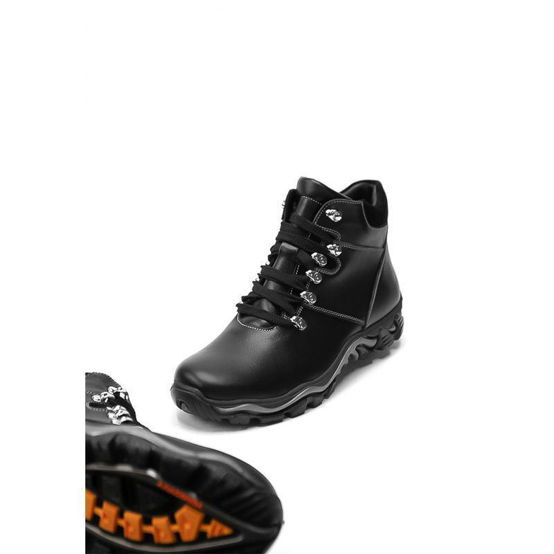 Мужские зимние кожаные спортивные ботинки - Фото 3