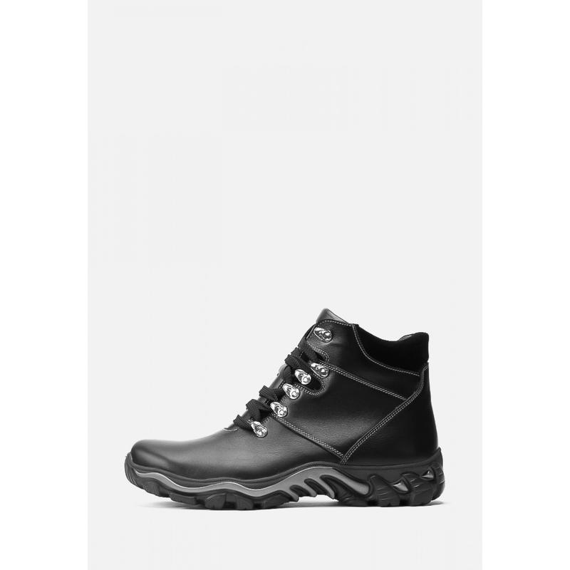 Мужские зимние кожаные спортивные ботинки - Фото 2