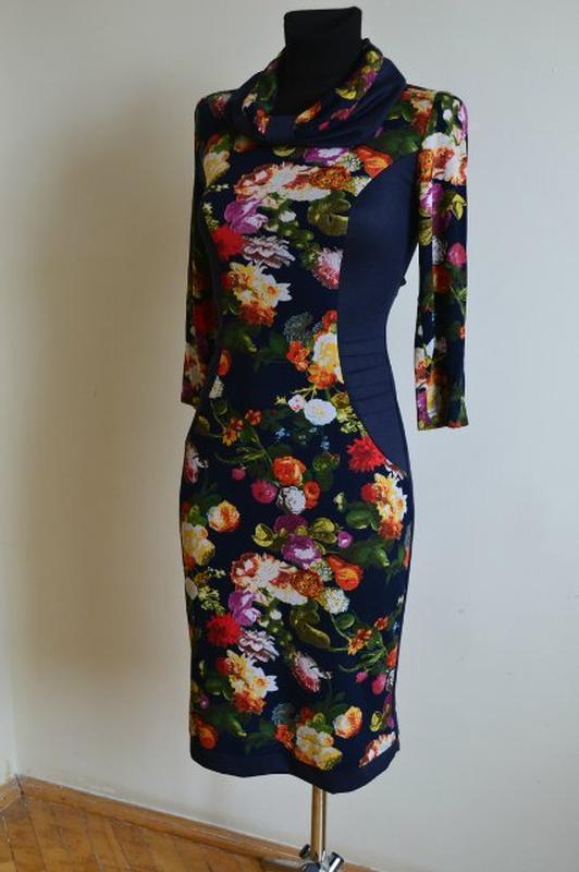 Платье из французского трикотажа 48 размер