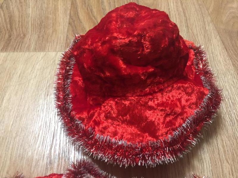 Новогодний детский костюм красной шапочки - Фото 4
