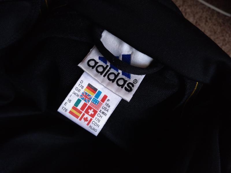 Винтаж adidas кофта мастерка спортивная s - Фото 8