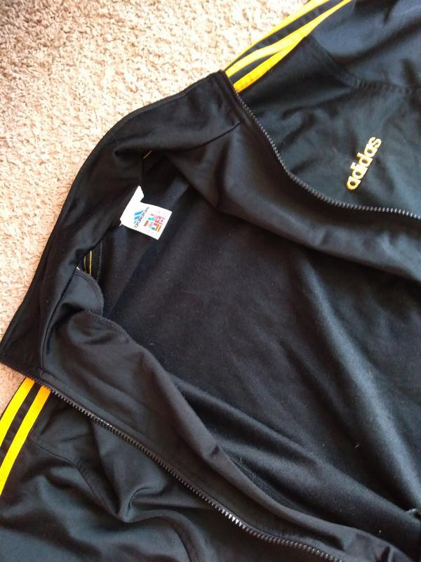 Винтаж adidas кофта мастерка спортивная s - Фото 10