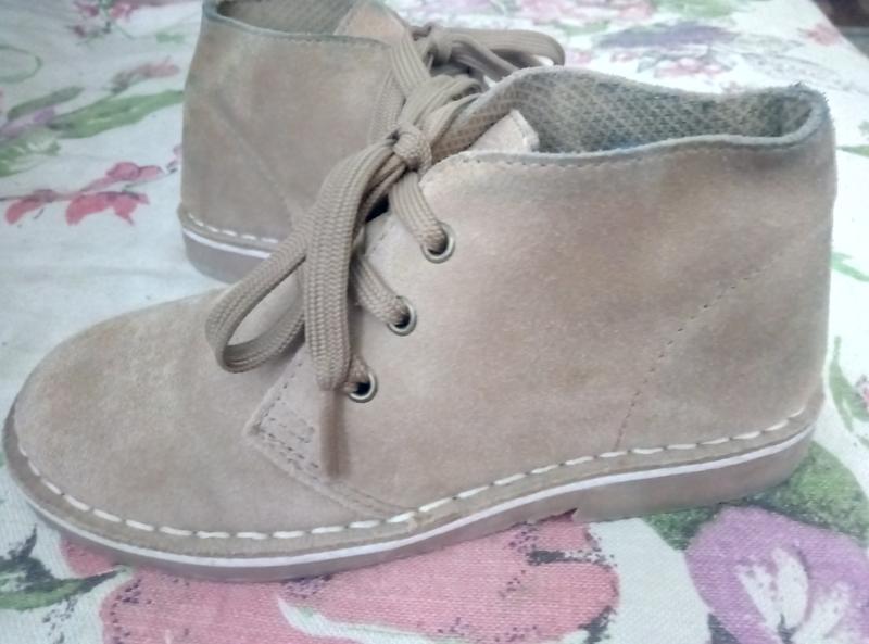 Демисезонные ботинки,туфли нат.замш - Фото 2