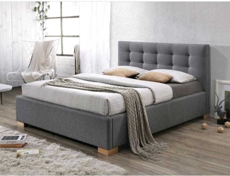 Кровать мягкая. Ліжко для спальні