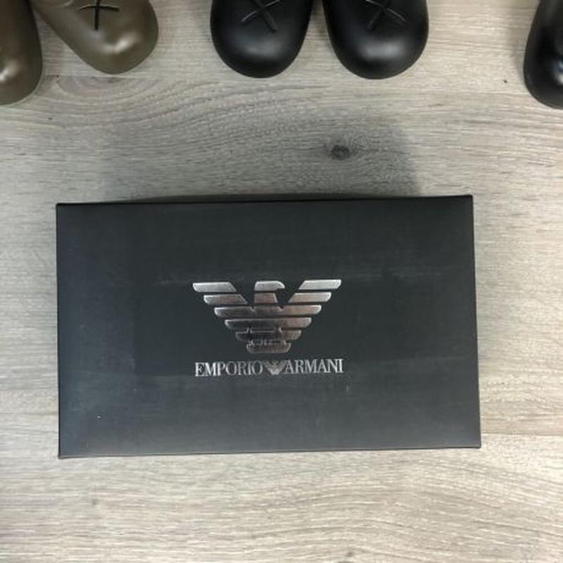 Акция! Набор Трусов Emporio Armani Pack 3 Silver Black/Grey/White - Фото 3