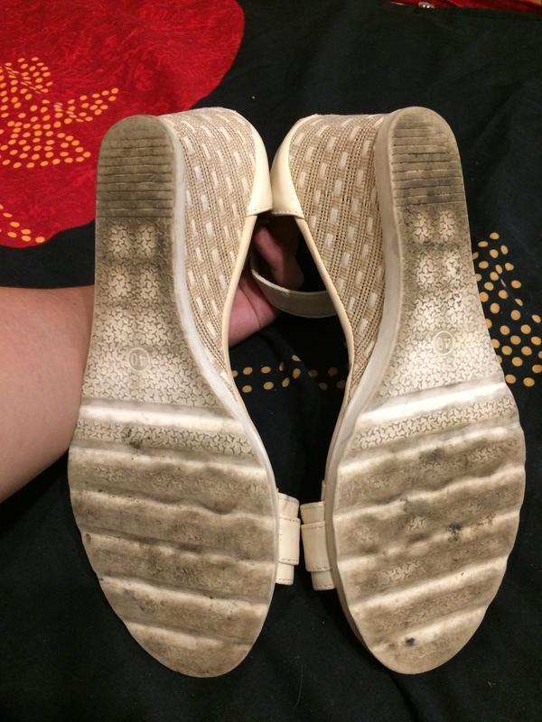 Lov'it босоножки сандали на танкетке платформе - Фото 9