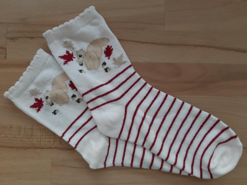 Классные носки  в полоску  от george, 36-38р