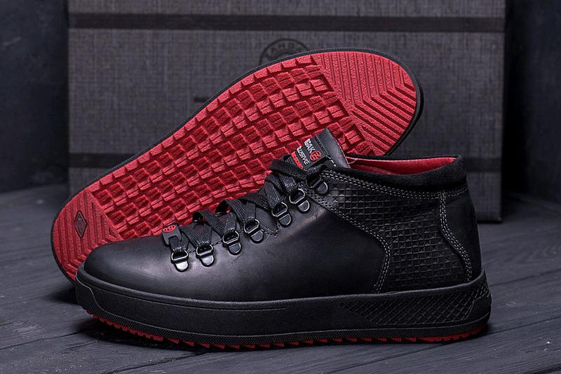 Мужские кожаные зимние ботинки zangak, зимние ботинки, ботинки - Фото 2