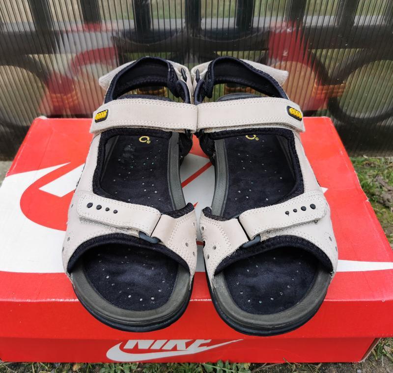 39 р. кожаные сандалии босоножки ecco оригинал