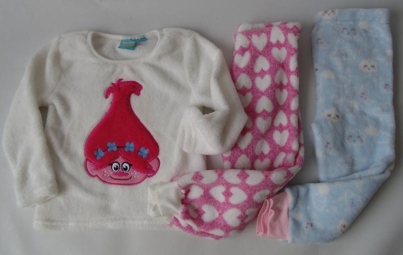 Пижама флис теплая 2-3 года 98 см primar k англия