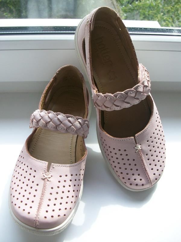 Туфли женские натуральная кожа  hotter р.36