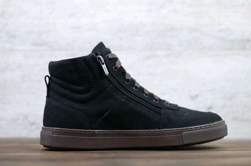 Мужские кожаные зимние ботинки zangak, ботинки, зимние ботинки - Фото 4