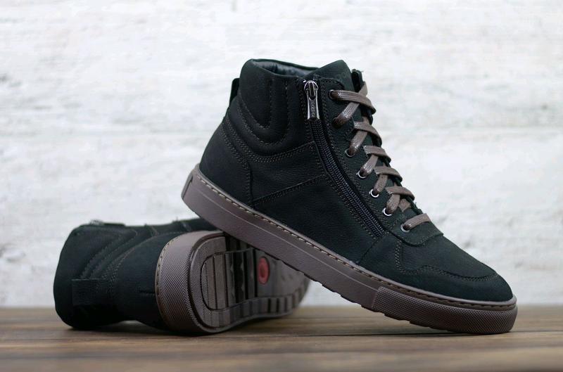 Мужские кожаные зимние ботинки zangak, ботинки, зимние ботинки - Фото 2