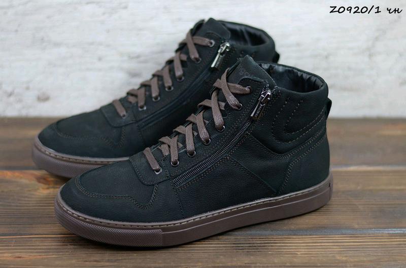 Мужские кожаные зимние ботинки zangak, ботинки, зимние ботинки