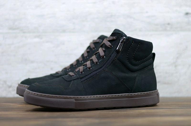 Мужские кожаные зимние ботинки zangak, ботинки, зимние ботинки - Фото 3