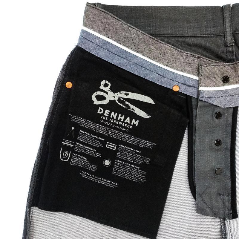 Вощеные джинсы denham grade slim vgt - Фото 6