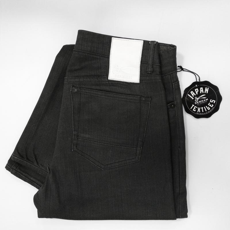 Вощеные джинсы denham grade slim vgt - Фото 8