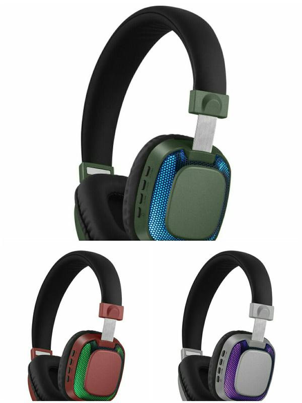 Светящиеся Беспроводные Bluetooth Наушники Arvel Luminous 3 цвета