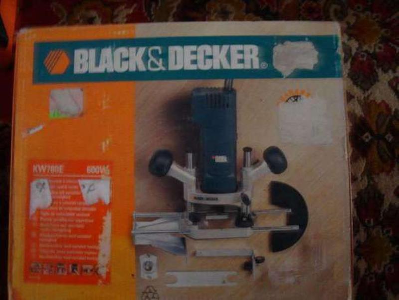 Фрезер black&decker kw 780 e - Фото 2