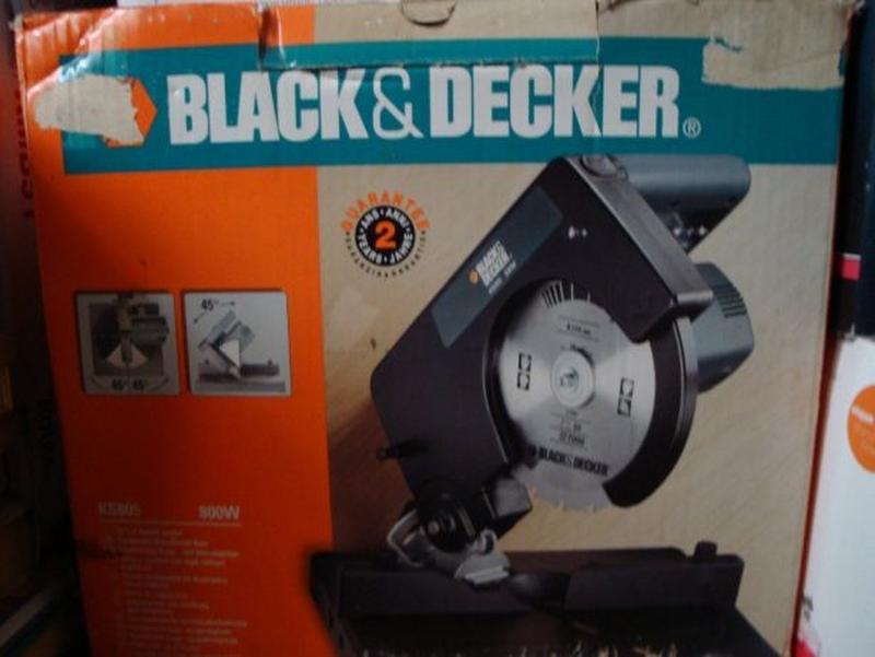 Отрезная пила black&decker ks 805