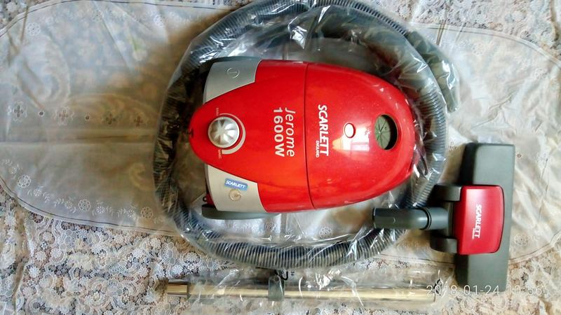 Пылесос с мешком SCARLETT SC-1280