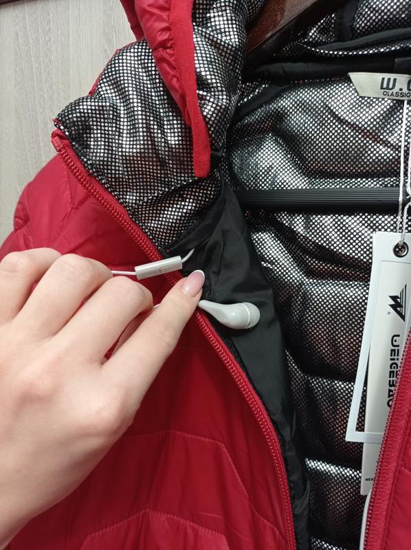 Чоловіча куртка демісезон термокуртка - Фото 5
