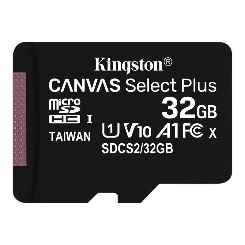 Карта памяти Kingston 32GB microSDHC Canvas Select Plus