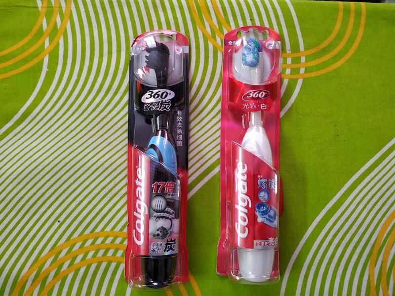 Электрическая зубная щетка Colgate 360 для взрослых