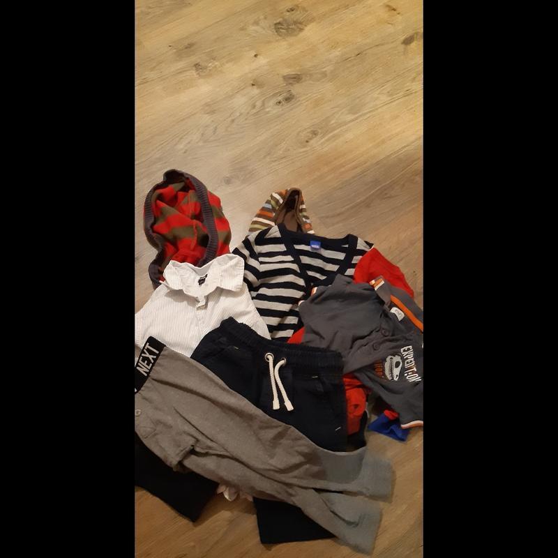 Пакет фирменных вещей на мальчика, р.3-4 лет.