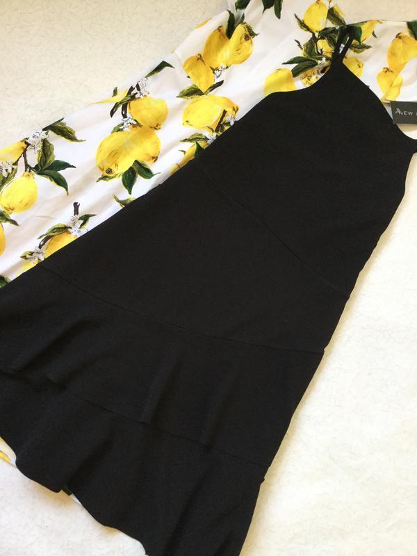 Платье с воланами из фактурной ткани new look размер 16