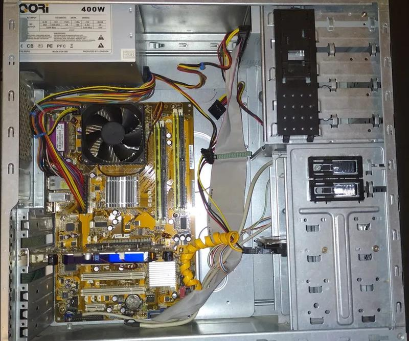 Пк для офиса и мультимедиа Core 2 Duo 2.8ghz, 4gb ddr2 160gb - Фото 6