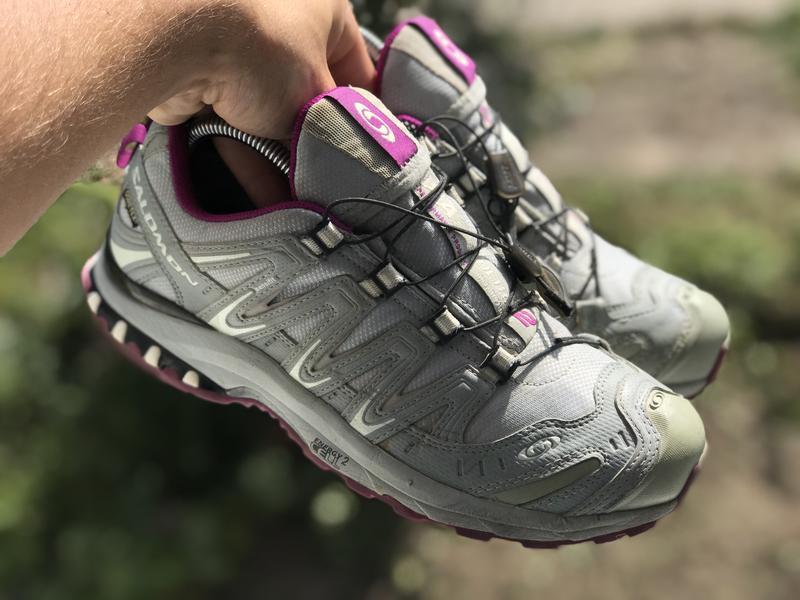 Salomon gore-tex трекінгові кросівки - Фото 2