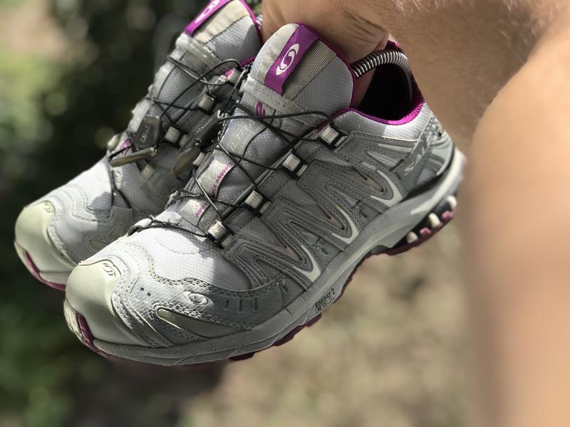 Salomon gore-tex трекінгові кросівки - Фото 4